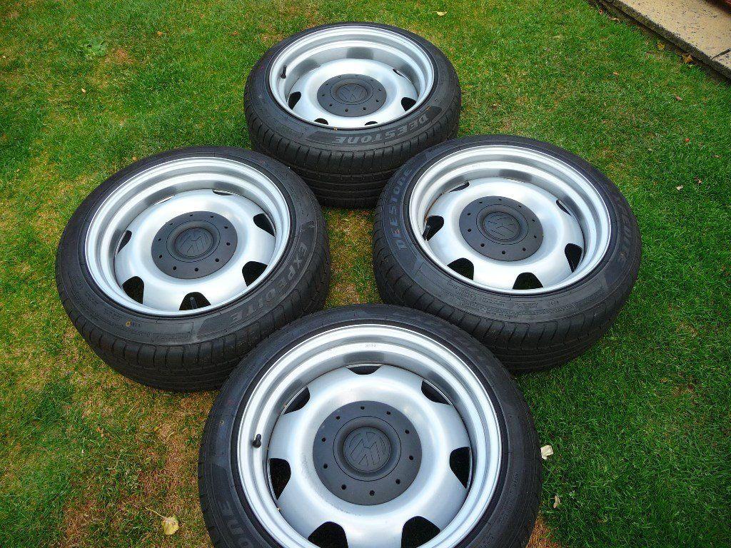 Vw Transporter T5 Banded Steel Wheels Vw Transporter Steel Wheels Vw Wheels
