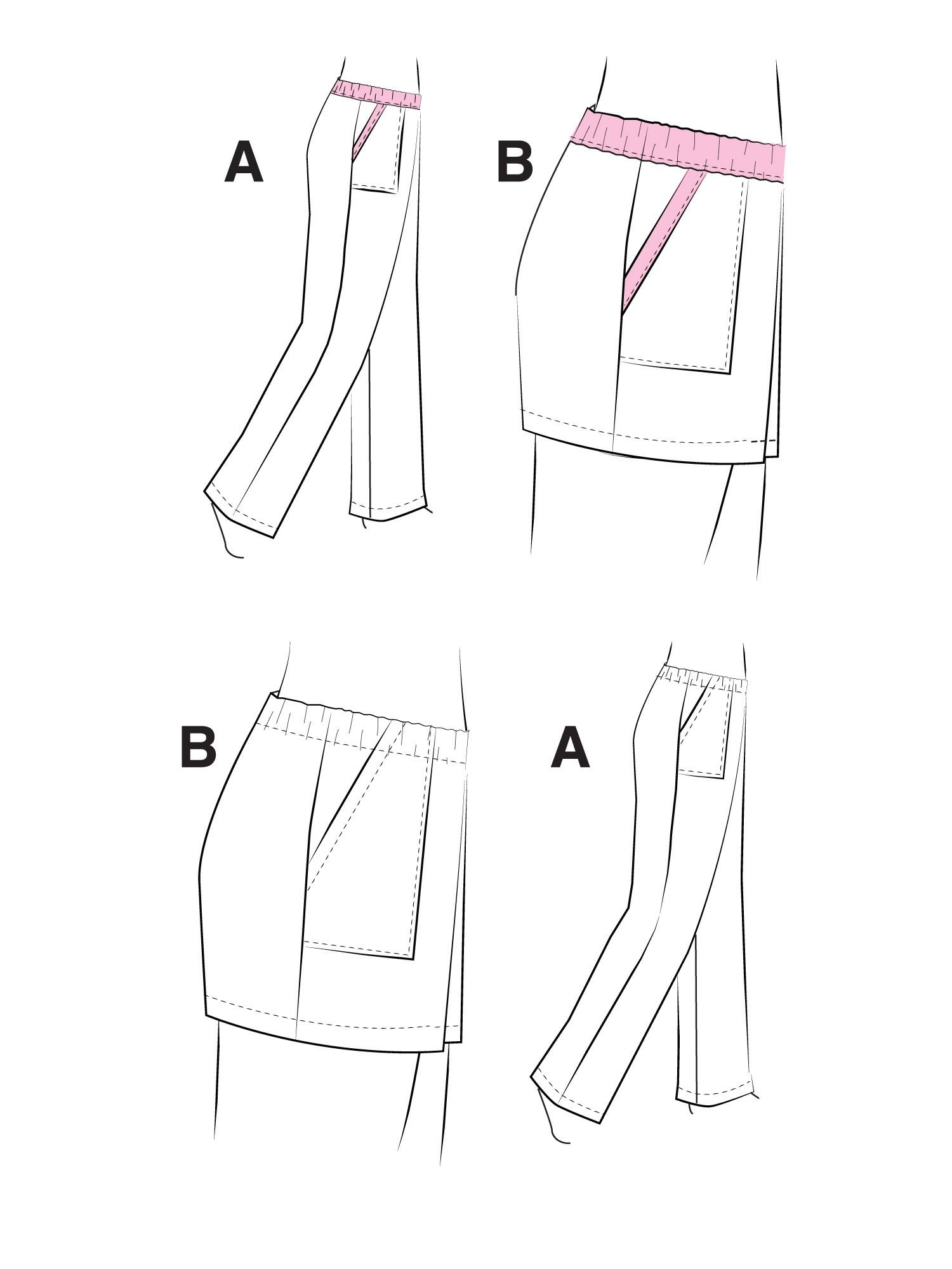 Pull-on Pants and Shorts | 2019 Sewing Plans and Ideas | Pinterest ...