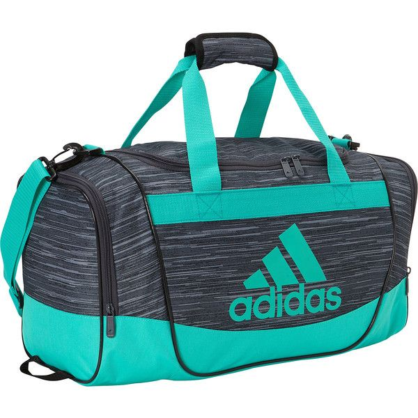 a6a1aa765 adidas Defender II Small Duffel ❤ liked on Polyvore featuring bags and  luggage