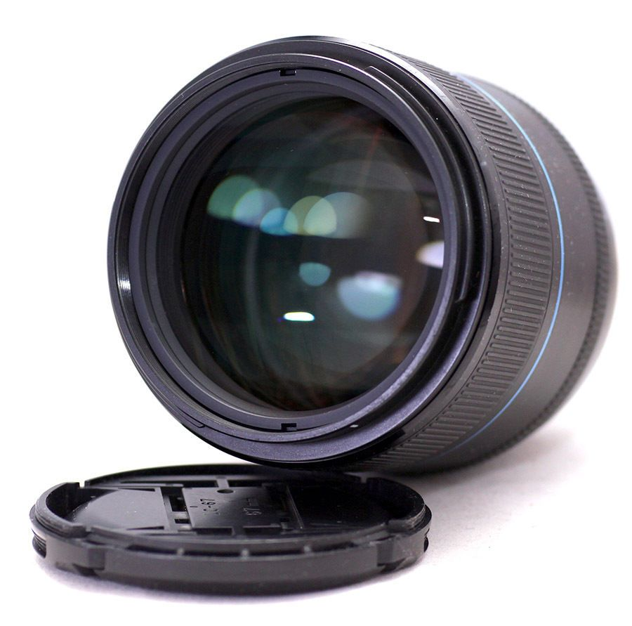 Samsung SSA ED 85mm f1 4 Lens With i-Function, For NX Series