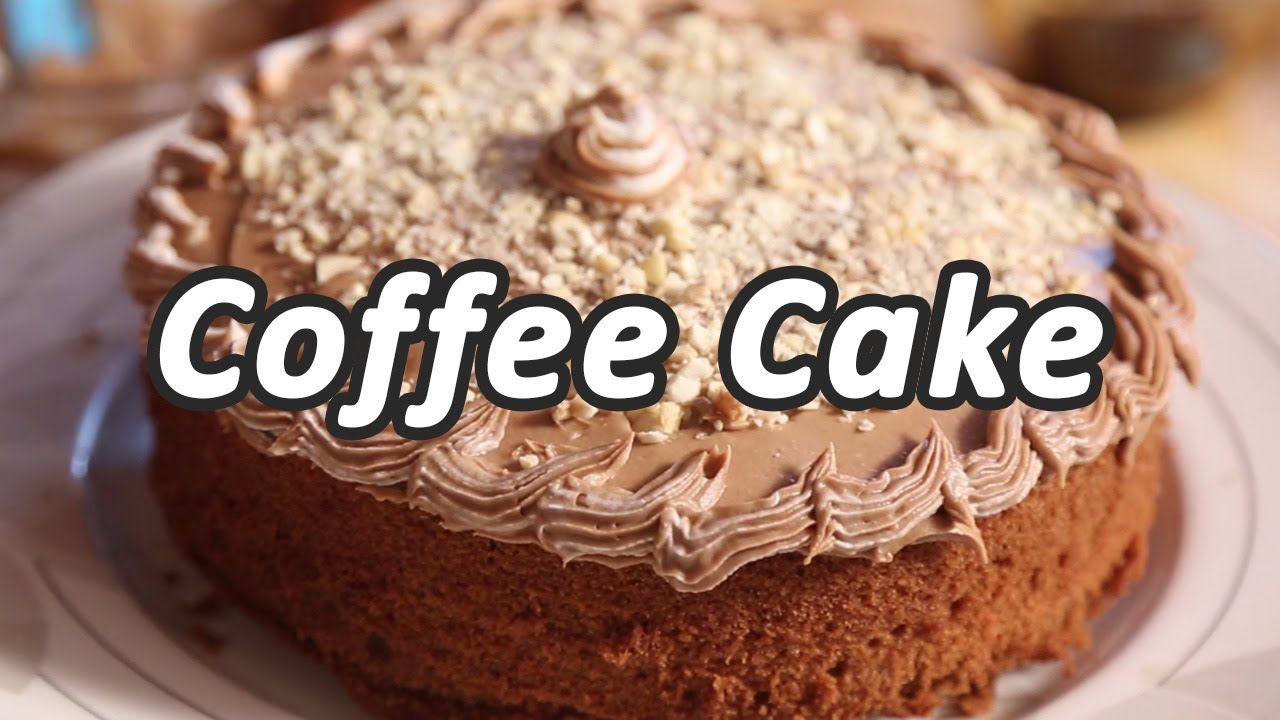 Coffee Cake Recipe Mallika Joseph Foodtube Coffee Cake Coffee Cake Recipes Easy Coffee Cake Recipes