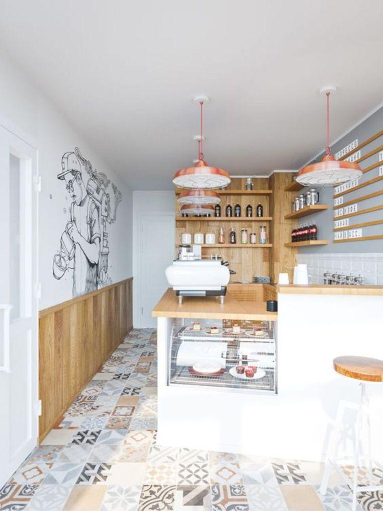 16 Small Cafe Interior Design Ideas | Cafe interior design ...