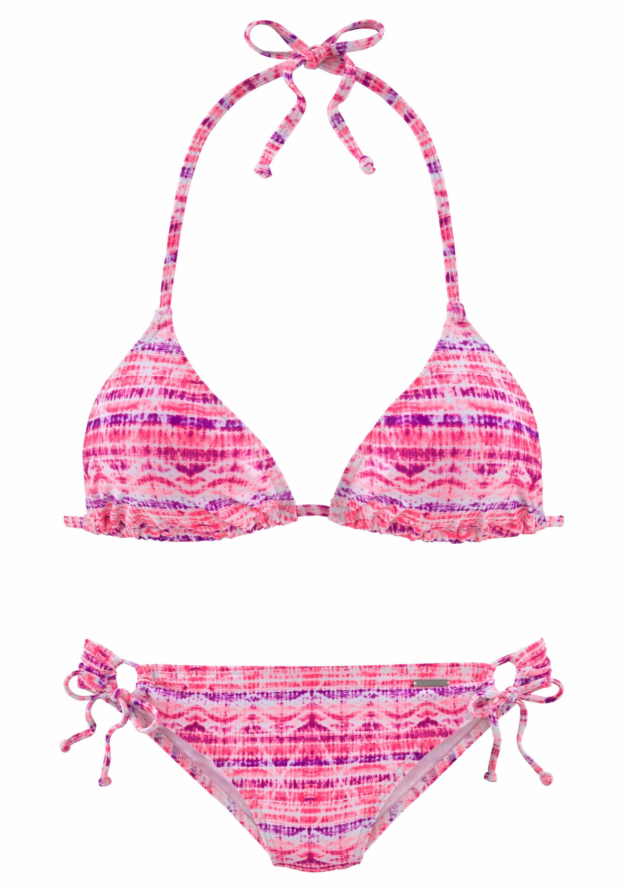 3b515717902cc Damen Chiemsee Triangel-Bikini rosa