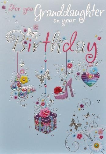 Granddaughter birthday card happy birthday pinterest granddaughter birthday card bookmarktalkfo Gallery