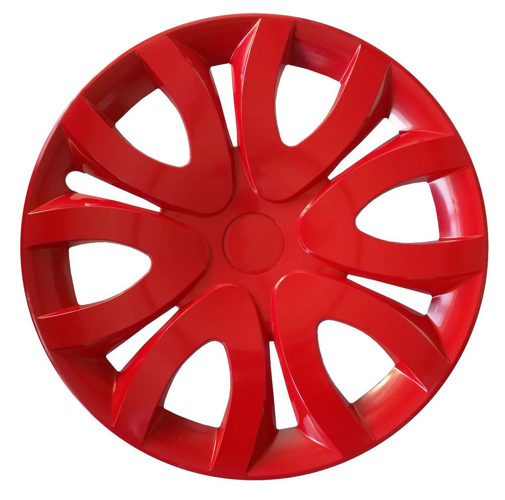 4x15 Wheel Trims Covers Fit Ford Transit Custom Turneo 15 Red Full Set X 4 Transit Custom Ford Transit Custom
