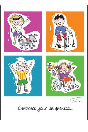 Fishbowl Cards Cards About For Those With Special Needs Disability Awareness Activities Education Poster Awareness Poster