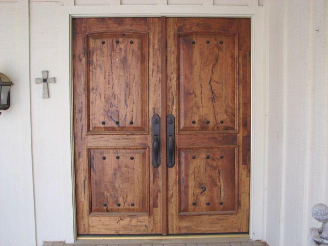 Custom Mesquite Entries In Austin Texas Doorways To