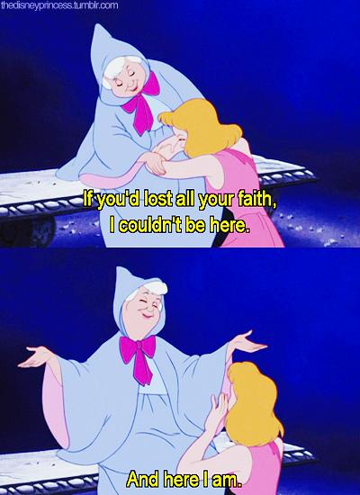 The Disney Princess Cinderella Fairy Godmother Disney Princess
