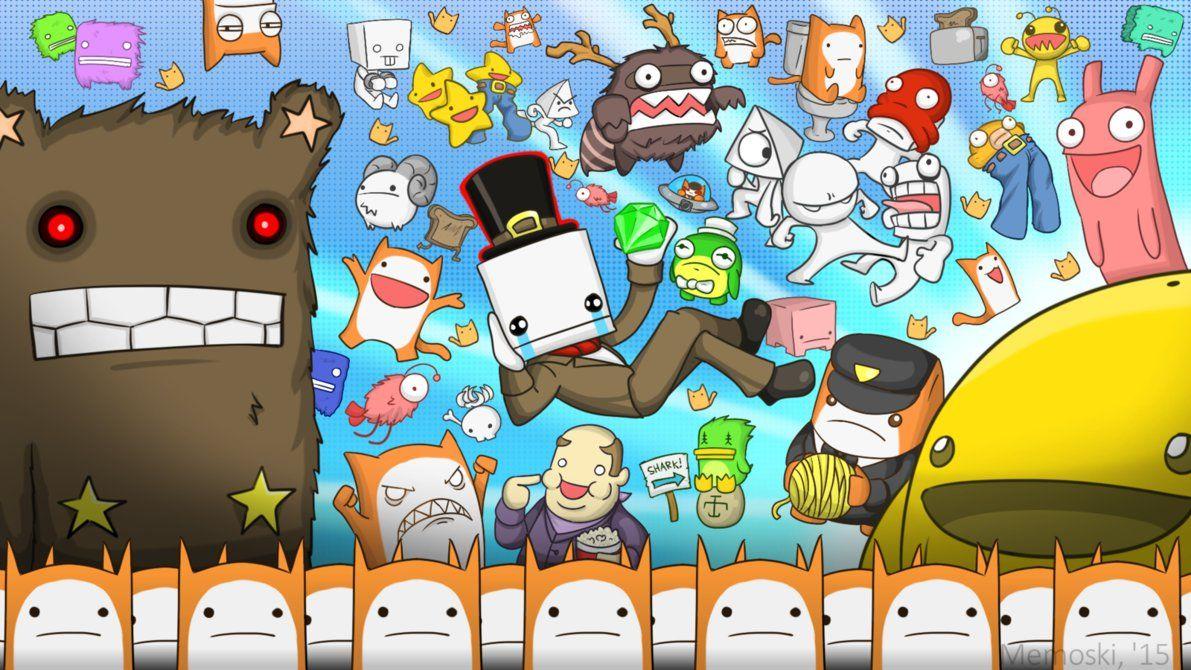 Battleblock Theater By Memoski On Deviantart Art Wallpaper Castle Crashers Game Development Company