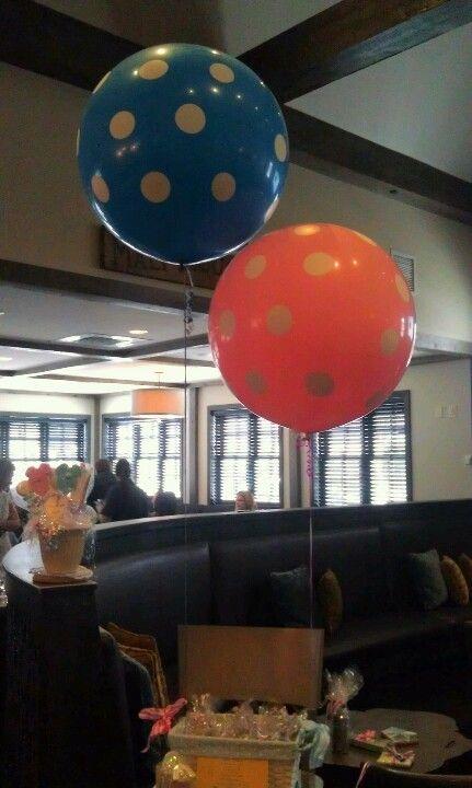 38' Ballons from Shop Sweet Lulu...major hit!