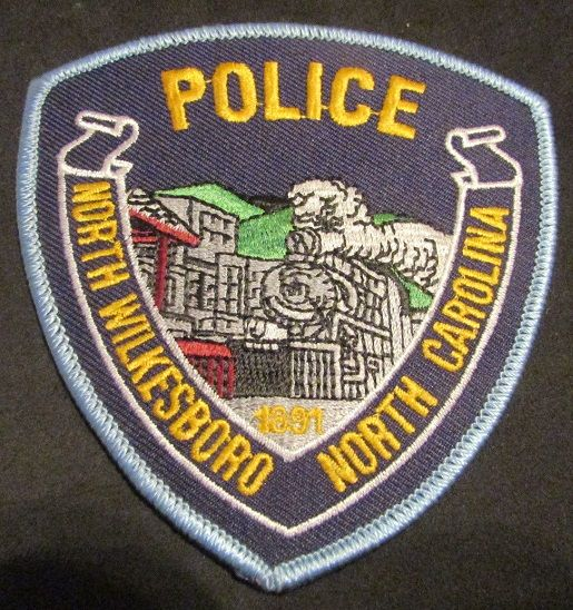 North Wilkesboro Pd Nc 1 Police Patches North Wilkesboro Wilkesboro North Carolina