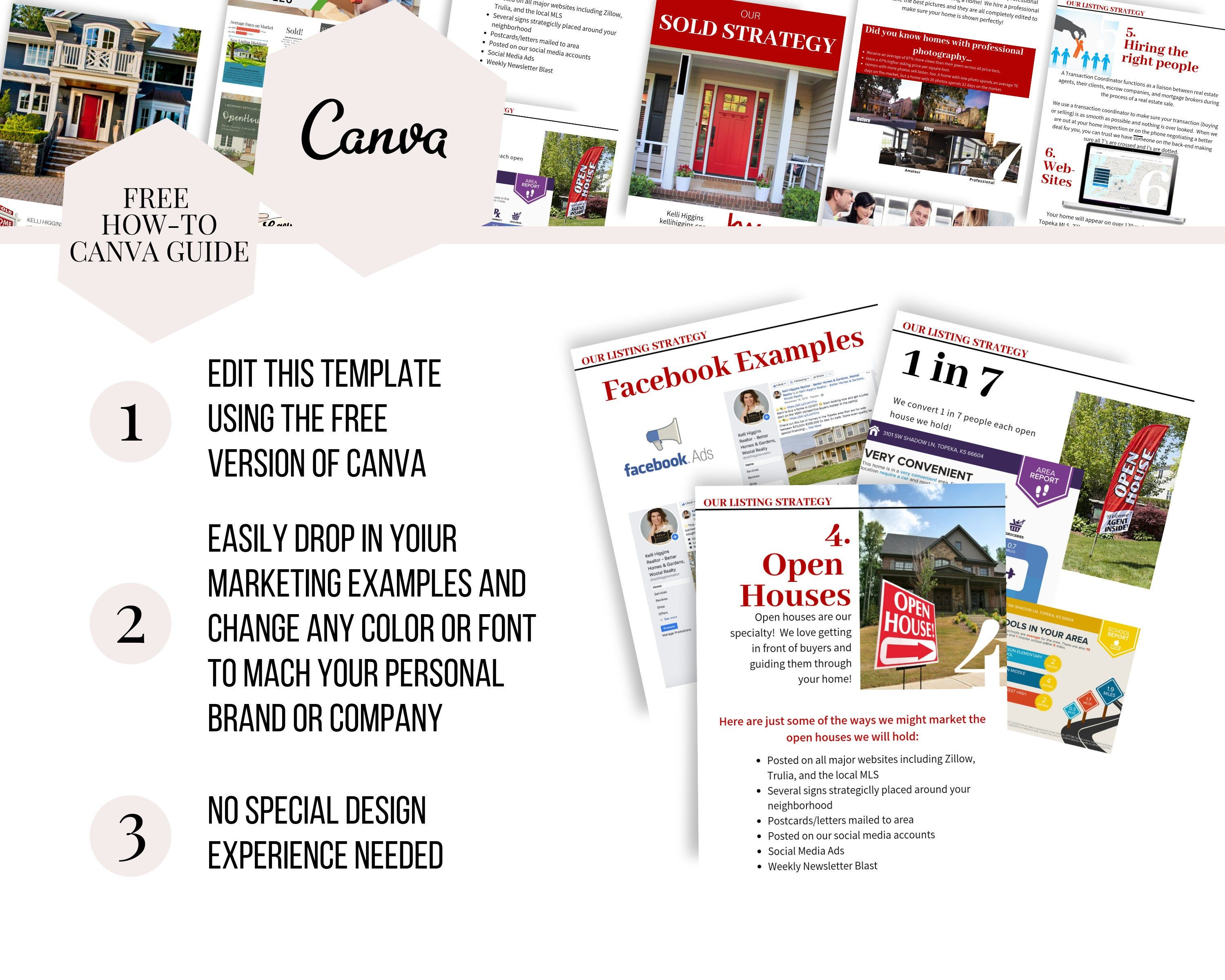 Listing Presentation Packet Keller Williams Kw Real Estate Guide Templates Canva Canva Real Estate Marketing Real Estate Realtor Listing Presentation Listing Presentation Real Estate Real Estate Checklist