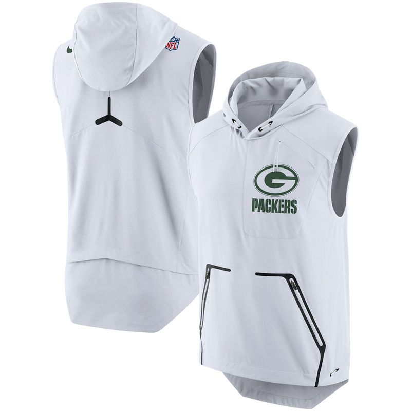 Dallas Cowboys Men's Nike White Color Rush Alpha Fly Hooded