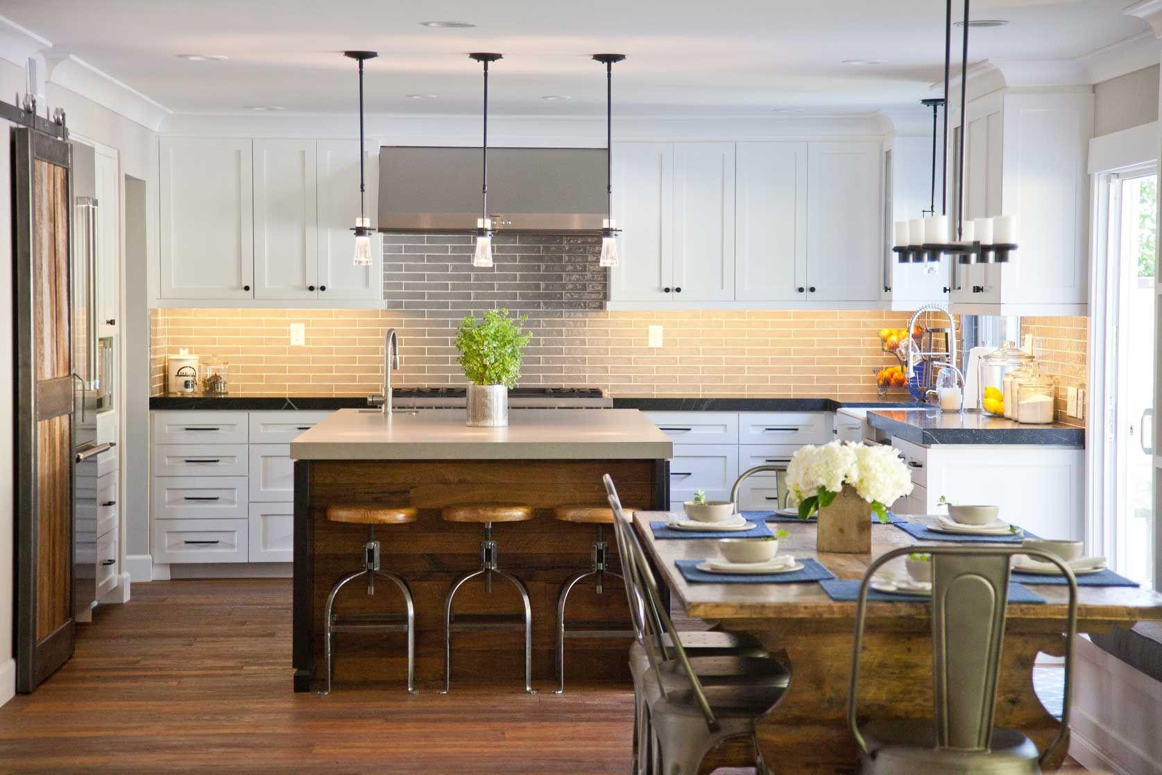 beautiful kitchen gray subway tile soapstone countertops farm sink honed caesarstone reclaimed on kitchen interior grey wood id=63712