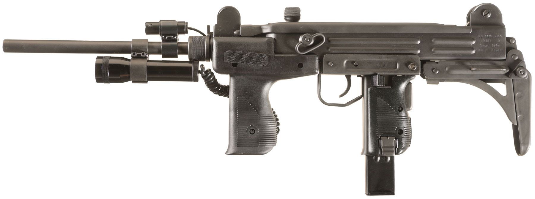 For sale trade imi uzi carbine made in israel 9mm - Israeli Military Industries Action Arms Model B Uzi Semi Automatic Carbine With Spare Magazines