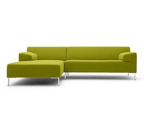 ecksofa freistil 180 ottomane links gelbgr n b 260 cm m bel pinterest home decor sofa. Black Bedroom Furniture Sets. Home Design Ideas