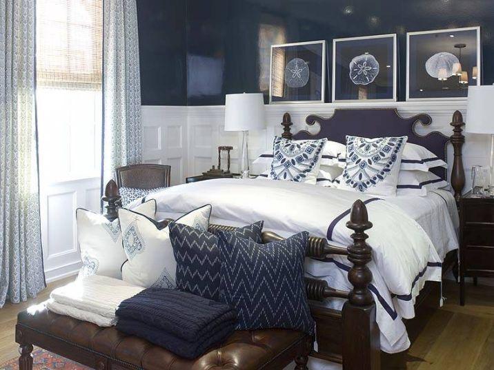 Conseils Deco Pour Une Chambre A Coucher Bleu Marine Couleur
