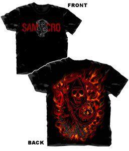 SamCro Flames T-shirt