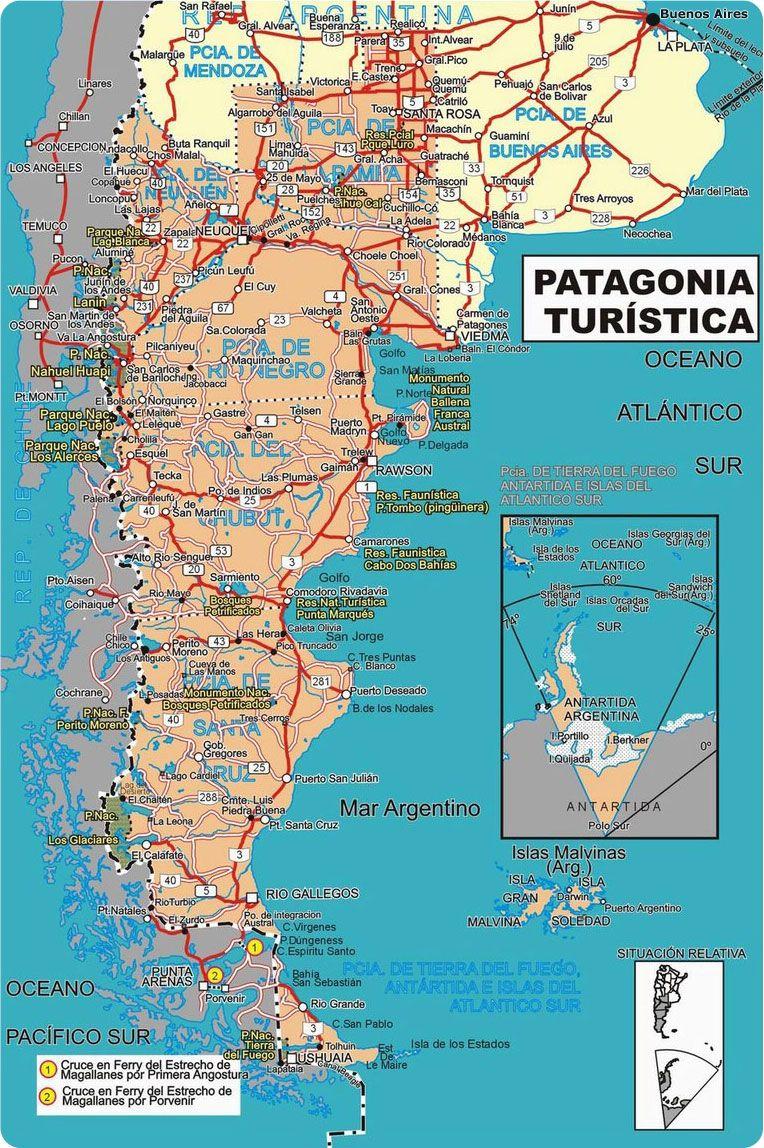 Hay tantos caminos por andar rutas de la patagonia mapa rutas de la patagonia mapa gumiabroncs Choice Image