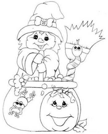 Desenhos De Bruxas E Seus Caldeiroes Desenhos De Bruxas Imagens