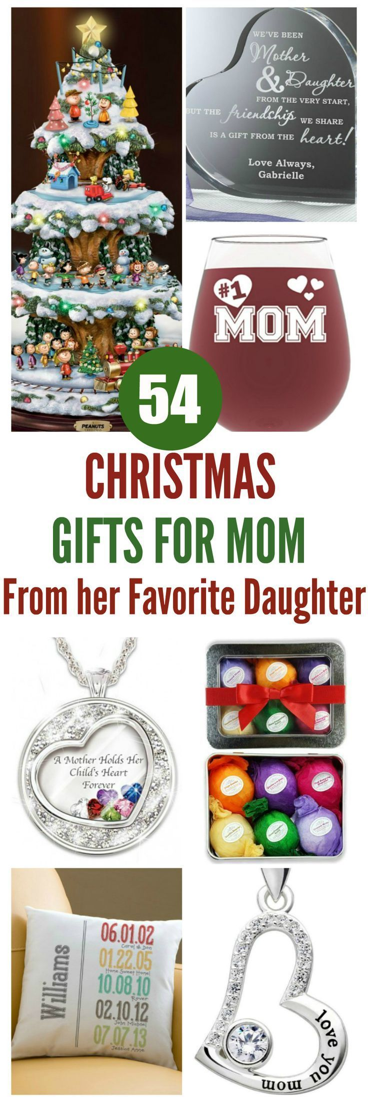 Gifts for Mom from Her Daughter - Top 60 Gifts | Christmas Gifts for ...