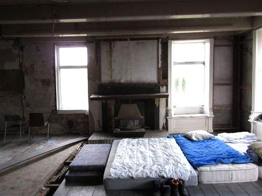 Ugly Bedroom Four Mattresses On The Floor Fixer Upper