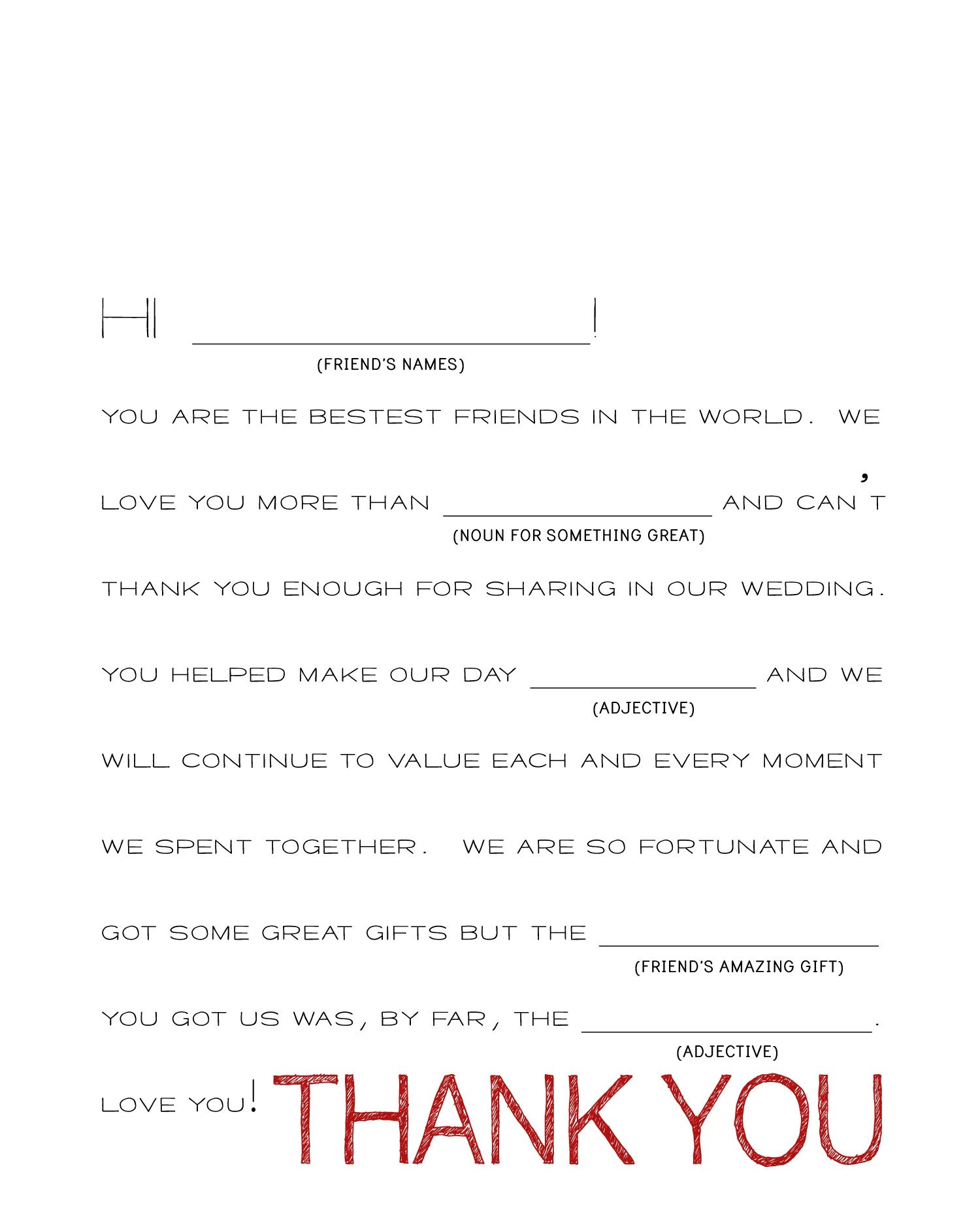 Heart Confetti Thank You Cards + Template | Printables: Crafts ...