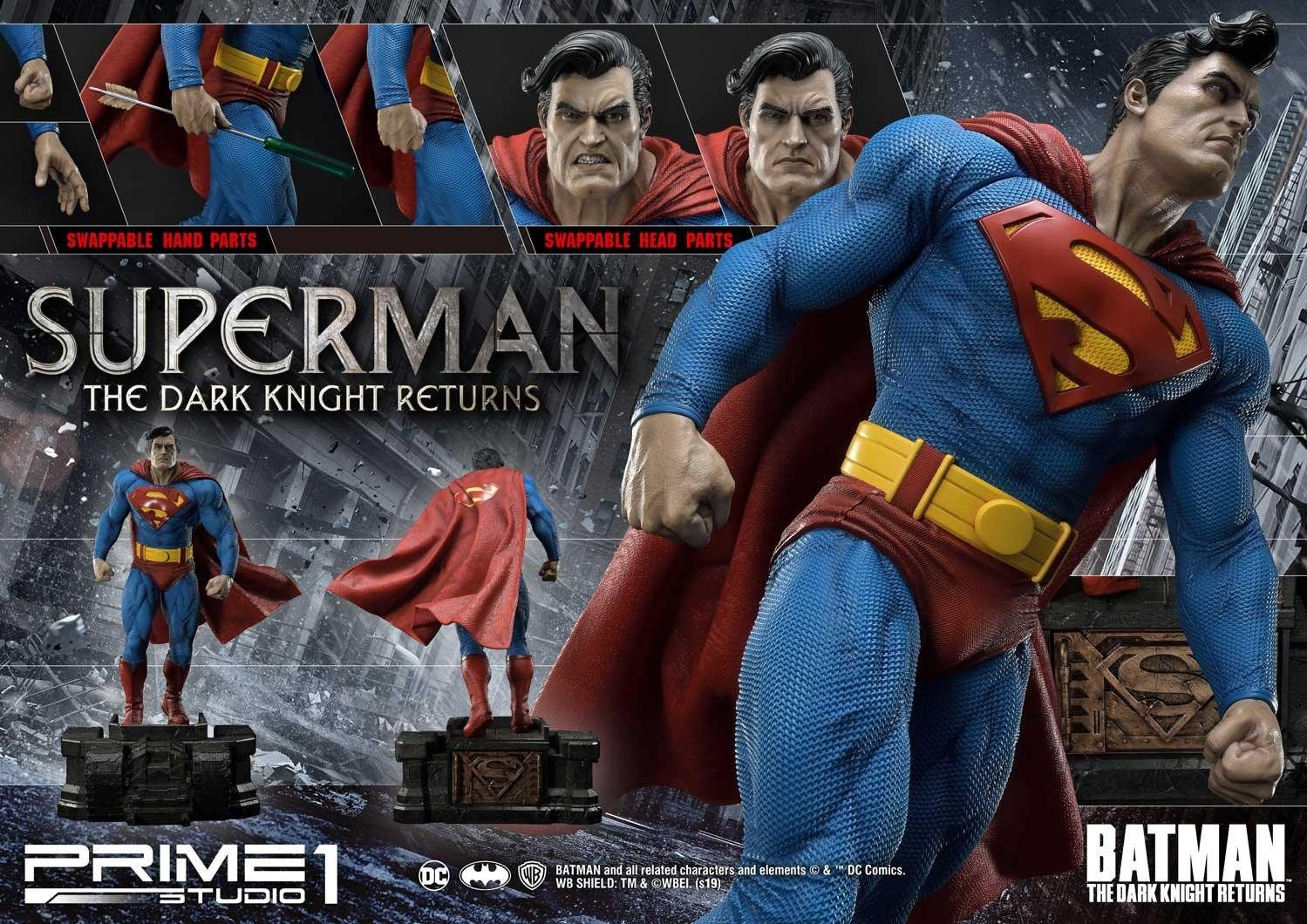 Prime 1 Studio Announces Dark Knight Returns Superman Statue