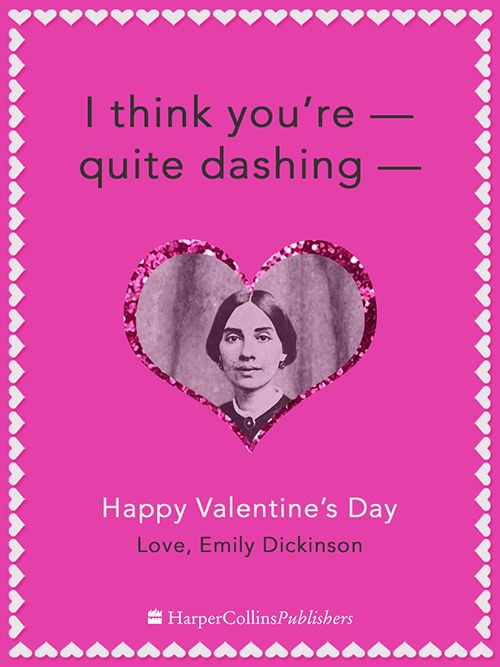 Emily Dickinson | If Famous Writers Sent Valentines