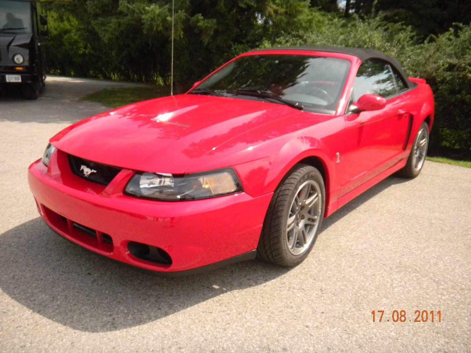 Ebay 2003 Ford Mustang Highline 2003 Ford Mustang Svt Cobra 10th