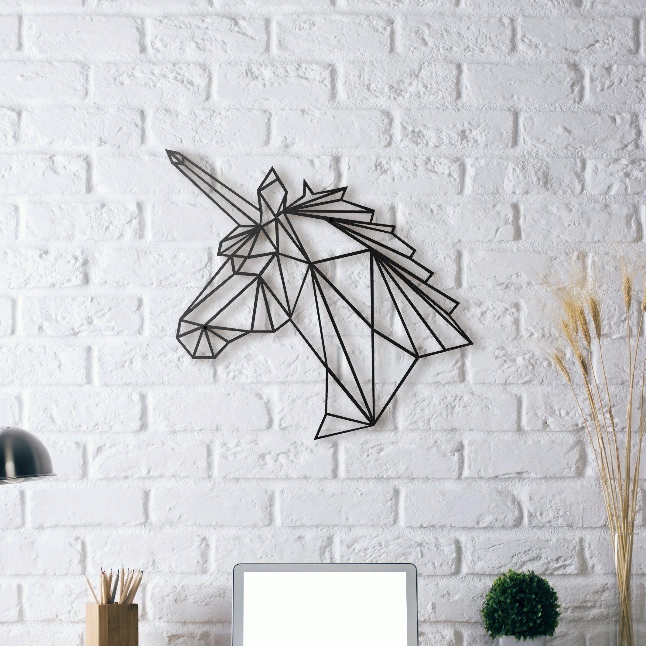 Unicorn metal wall art metal wall art metal walls and unicorns