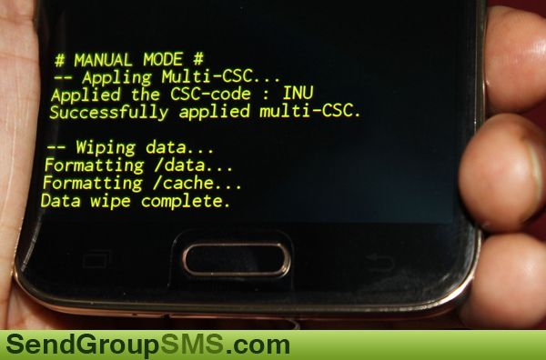 Learn how to hard reset/factory reset Samsung galaxy S5 Smartphone