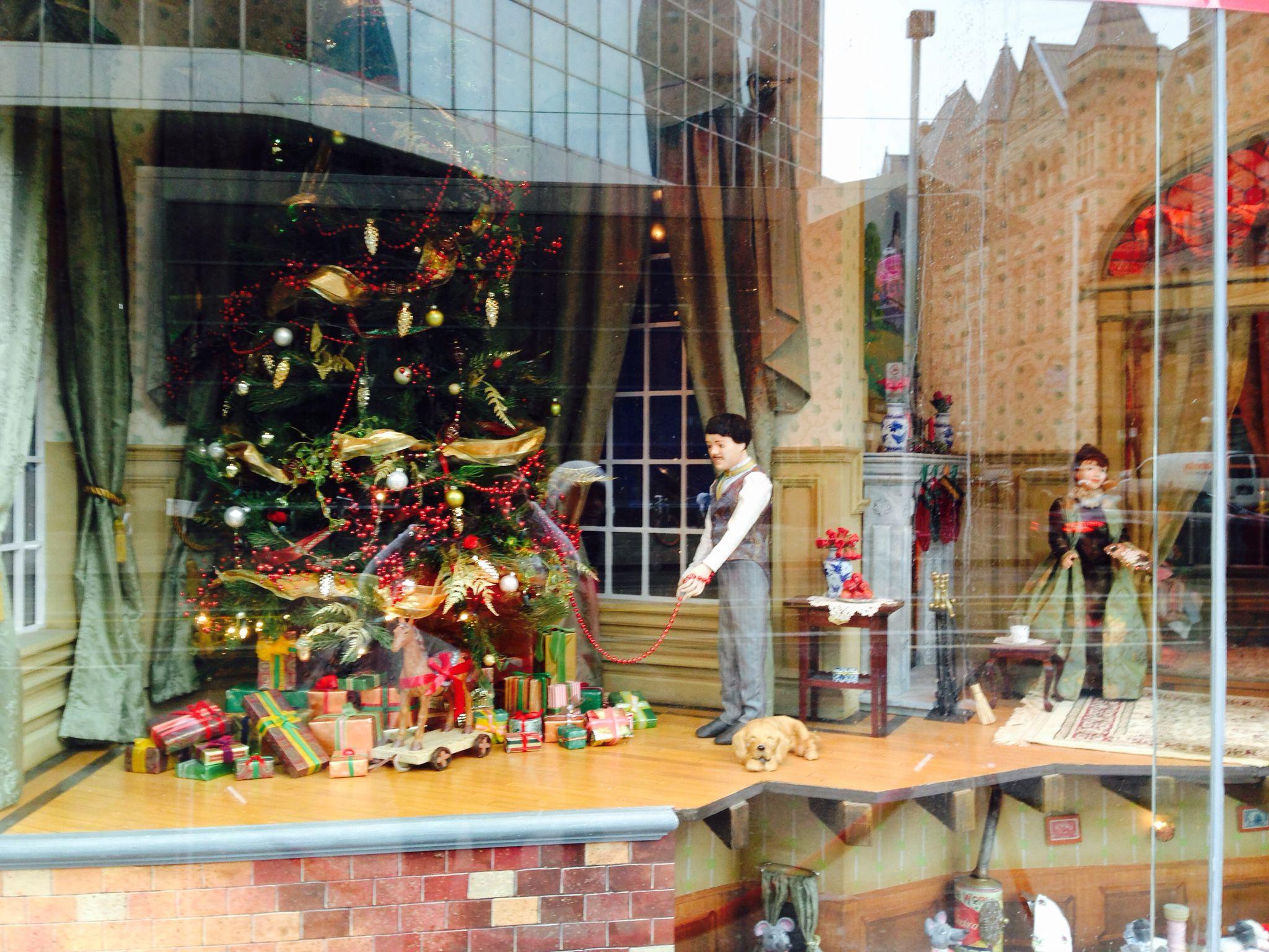 The Toronto Bay store 2014 Christmas windows.