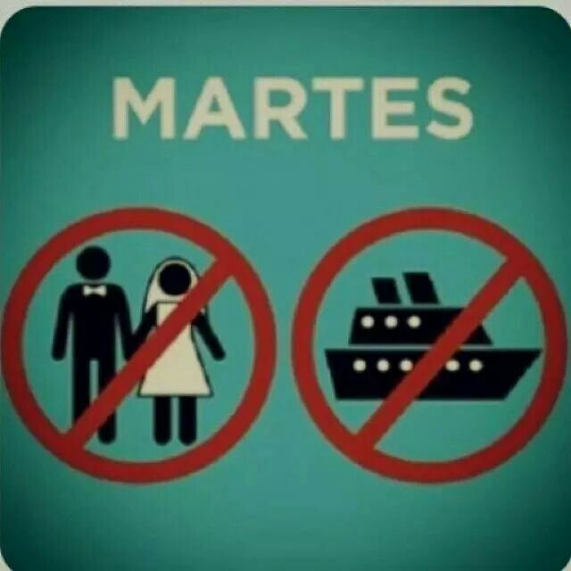 Martes: No Te Cases ni te, Embarques