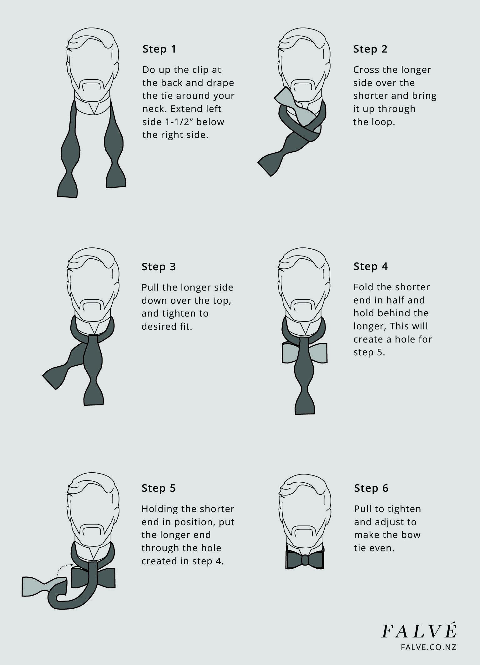 Bow Tie Instructions Falve