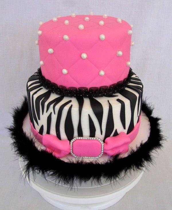 Best Zebra Birthday Cakes Chickabug Kendalls First Birthday