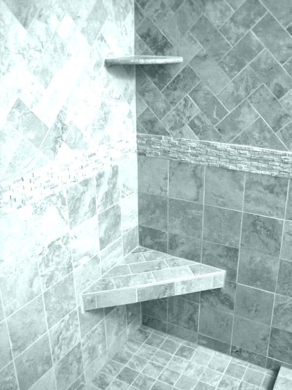 Tile Shelf For Shower Tiles Corner A Warm Installation In Ceramic