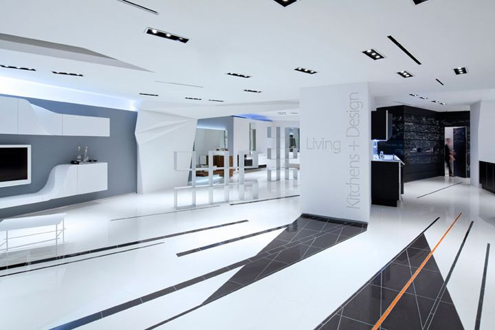 Snaidero USA Showroom by Giorgio Borruso Design, New York