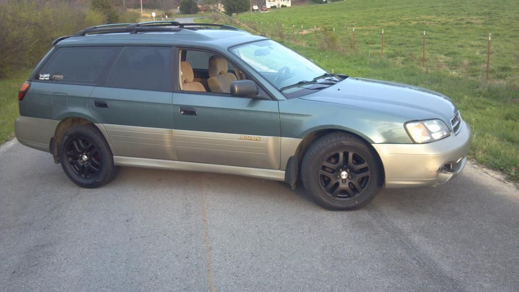 2001 Subaru Outback Custom >> Painted Rims Subaru Outback Subaru Outback Forums My Style