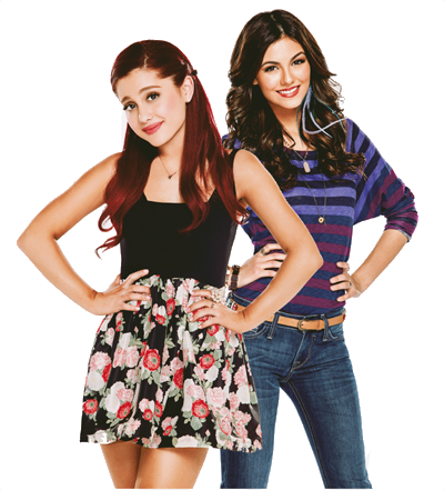 Pin On Ariana Grande And Victoria Justice