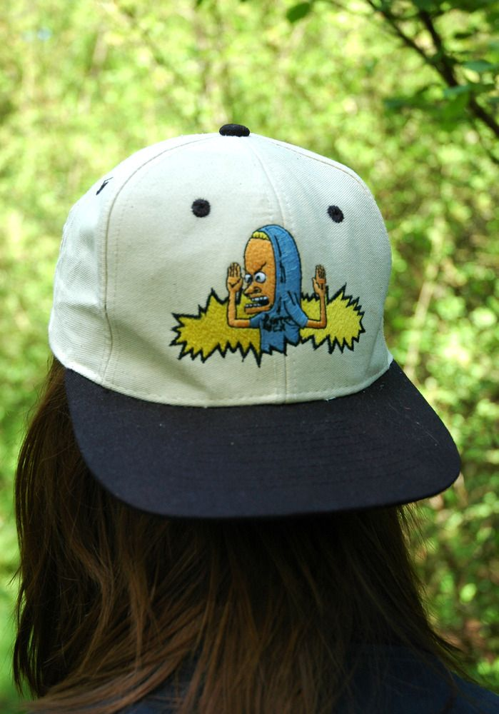 Image of Vintage Beavis and Butt-Head Snapback  3fa76e4c740