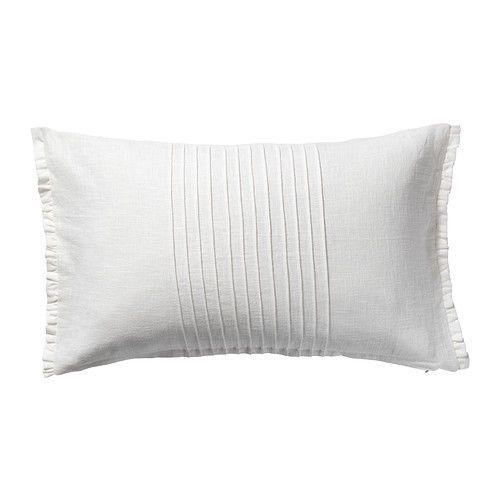 ikea vitfjaril cushion cover white