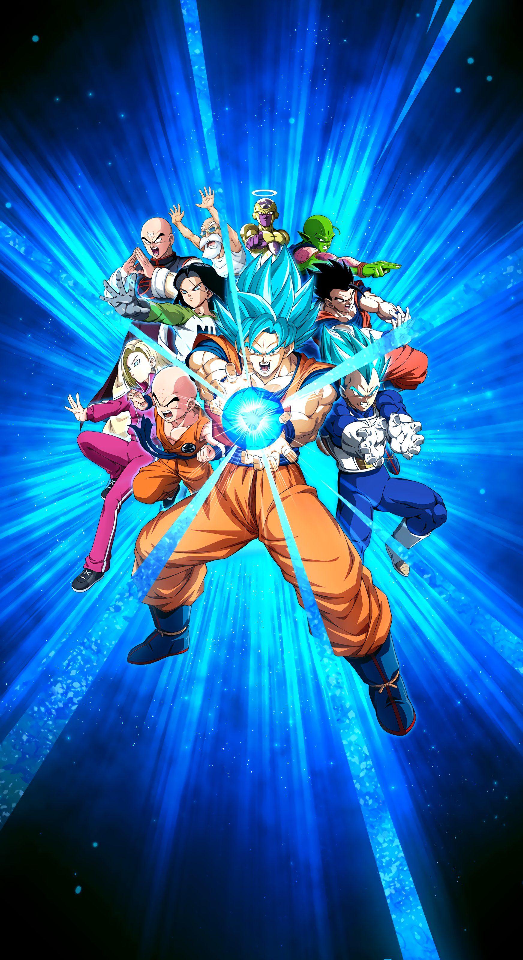 Dokkan Battle 6th Anniversary Wallpaper In 2021 Anime Dragon Ball Super Dragon Ball Image Dragon Ball Art