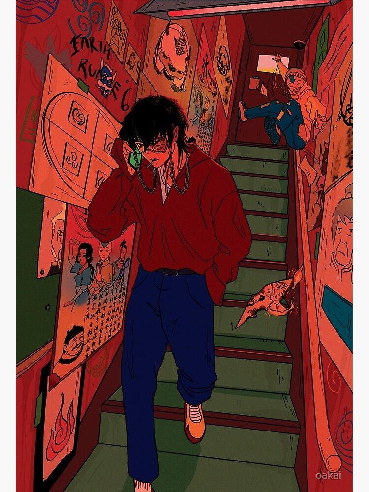Avatar: Underground (zuko, Aang) Art Print by oakai