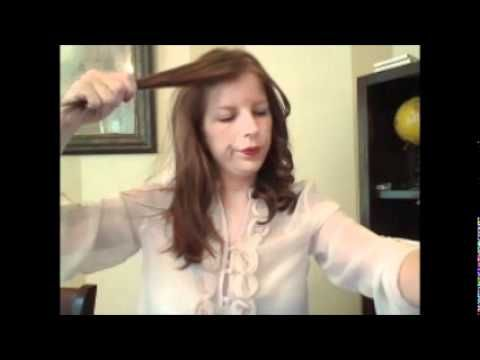 """""""The wave"""" tutorial.  A brief tutorial on how to curl your hair properly to achieve this look!  Enjoy!"""