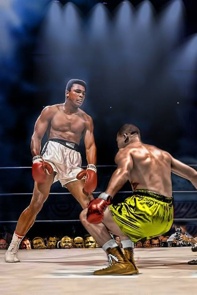 Ali v Louis | Ali...The Difference Maker of All Sports ...