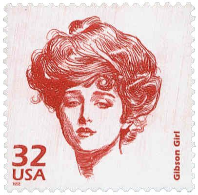 The Gibson Girl Illustration by Charles Dana Gibson