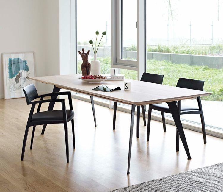 Esszimmer im skandinavischen Stil -moderne Designer Möbel - küche mit esszimmer