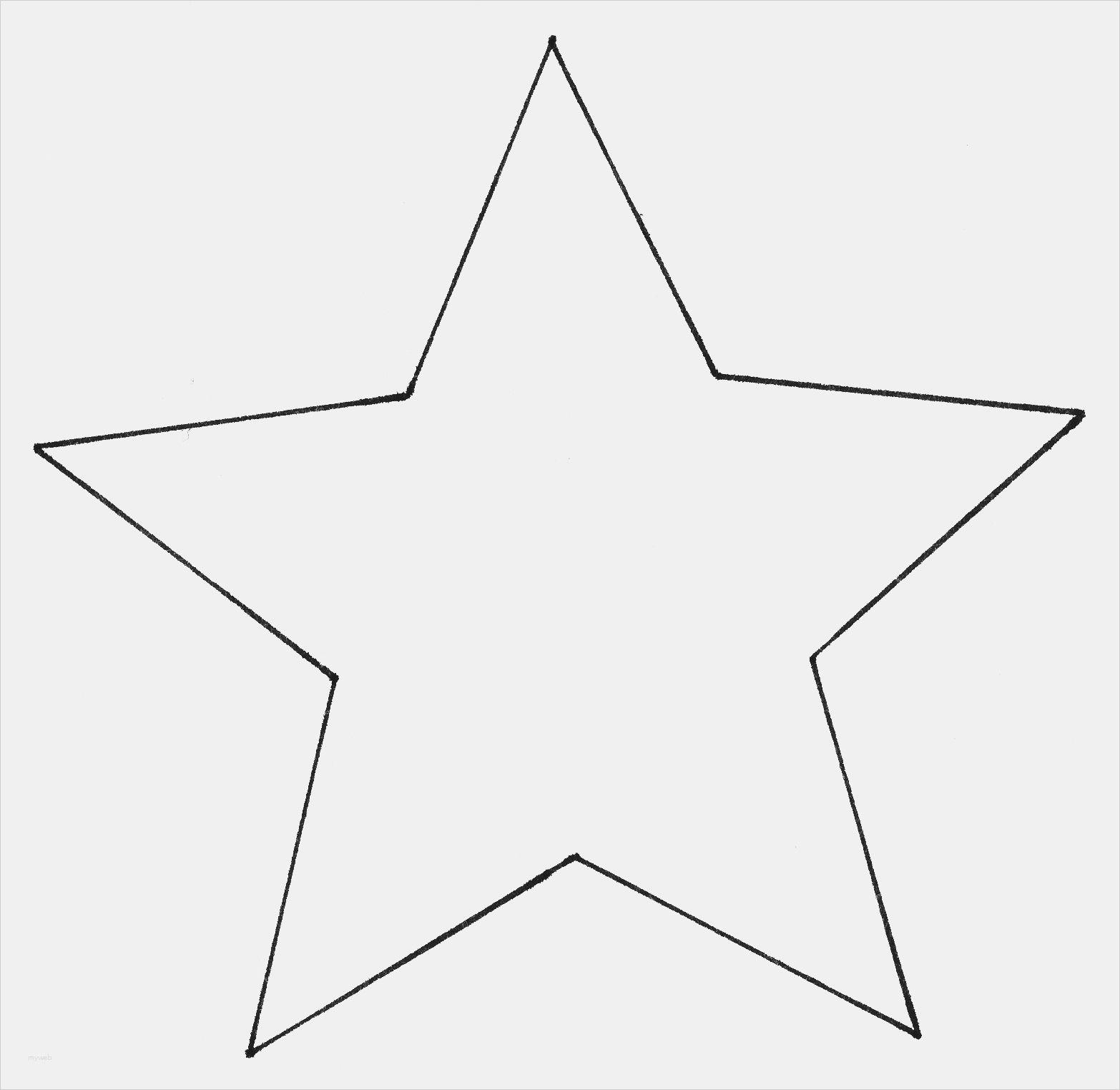 Schnittvorlage Stern