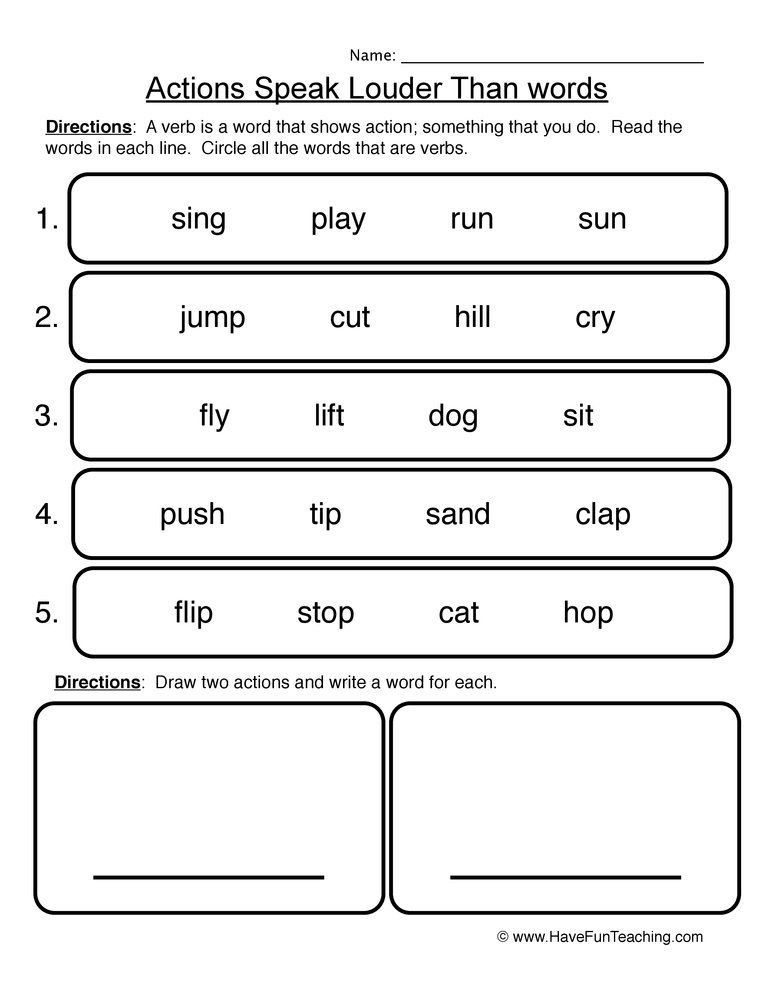 Verbs Worksheets Have Fun Teaching Nouns Worksheet Verb Worksheets Types Of Nouns Nouns worksheet for grade 4